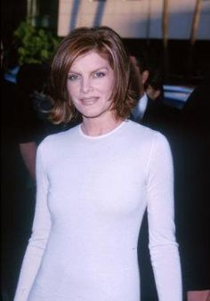 Rene Russo Gorgeous Haircut And Color Around The Time