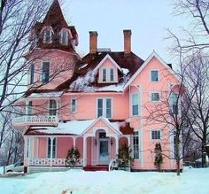 Ahhh..My dream house. Wouldn't it be nice :)
