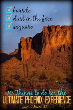 I Heart AZ: 10 Things to Do for the Ultimate Phoenix Experience