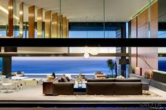 Nettleton 199 in Cape Town, South Africa. By SAOTA and OKHA Interiors. Via Contemporist.