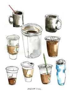 Coffee | コーヒー | Café | Caffè | кофе | Kaffe | Kō hī | Java |