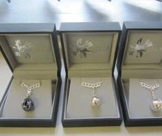 Lovely new Raindrop charms