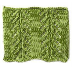 Free Knitting Pattern - Stitch Patterns: Pointelle Stitch