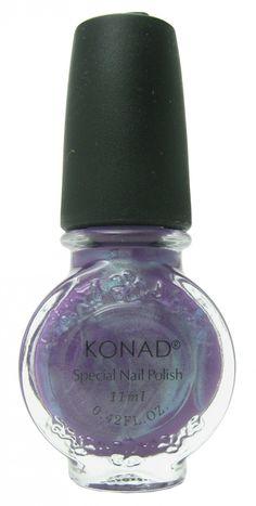 Violet Pearl (Special Polish) by Konad Nail Stamping   Nail Polish Canada - Free Shipping