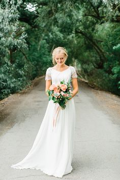 Kalli + Trent, Photo by Alyssia B, Dress by The Perfect Dress, Flowers by Calie Rose,