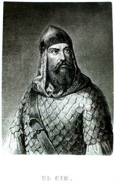 Rodrigo Díaz de Vivar (1043–1099) was a Castilian nobleman and military leader in medieval Spain. He was called El Cid (the Lord) by the Moors and El Campeador (the Champion) by Christians. He is the national hero of Spain. Born a member of the minor nobility, El Cid was brought up at the court of the Spanish Emperor Ferdinand the Great and served in the household of Prince Sancho. He rose to become commander and the royal standard-bearer of Castile upon Sancho's ascension in 1065.