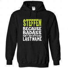 (BadAss) STEFFEN - #tshirt ideas #pullover sweatshirt. BUY NOW => https://www.sunfrog.com/Names/BadAss-STEFFEN-zlvtqflvpi-Black-43319263-Hoodie.html?68278
