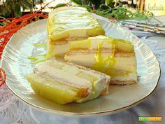 Semifreddo ananas mascarpone e limocello  #ricette #food #recipes