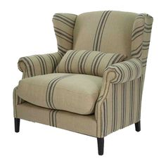 Beautiful with brown leather...I'll take two!    Google Image Result for http://www.bellemaisonfrancaise.com/images/P/Napoleon_Half_Wingback_Chair_400-01.jpg