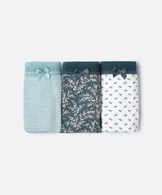 Pack 3 tangas bouquet - Pack De Cuecas - CUECAS | Autumn Winter 2016 - Oysho…