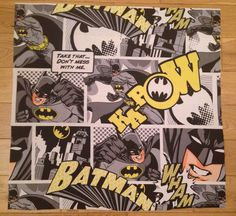 BATMAN DC COMIC BOOK CHILDREN'S FABRIC FQ-60X65cm–POLYCOTTON MATERIAL-SUPERHERO | eBay