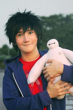 Big hero 6 - Hiro Hamada <<< omg this is amazing the cosplayers face matches exactly to hiro's in the poster like no this is impossible