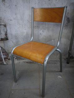 Leuke oude retro stoel gecombineerd met stoere for Bauhaus stoel vintage