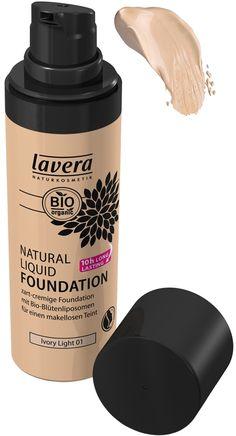 Lavera Natural Liquid Foundation - Ivory Light 01