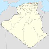 Algeria 06 Wilaya locator map-2009.svg