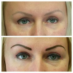 Client had previously had tattoo eyebrows and eyeliner and needed a fill. Top only eyeliner,  www.perfectioustatu.com