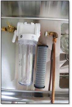 Build a Homebrew Water Filter | For beginner brewers, water is often the last explored component of the home brewing process due to its seemly unlimited supply and, in most cases, is already treated by a city municipality. Grain, hops and yeast usually get all the attention, but take a closer look at what is really coming out of those pipes... #homebrewingforbeginners