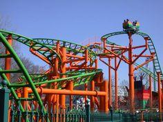 Pandemonium at Six Flags New England at Agawam, Massachusetts