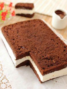 Easy Cake Recipes, Sweet Recipes, Dessert Recipes, German Torte Recipe, Strawberry Torte Recipe, Torta Angel, Kolaci I Torte, Biscuit Cake, Piece Of Cakes