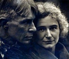 Carl and Lillian Sandburg ...photograph by Edward Steichen..Carl Sandburg is the quintessential Midwestern poet...Rootabaga Tales are my favorite stories.