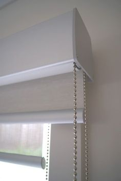 Conceal A Curtain Rod Inside This Decorative Wooden