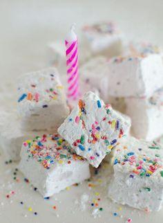Party Recipe: Birthday Cake Marshmallows with Sprinkles | Kitchn