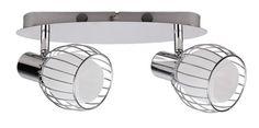 ORIENT - nástenné bodové osvetlenie - kov/sklo - 2x40W