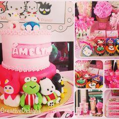 Hello Kitty 1st Birthday by AbbyCreativeDesigns