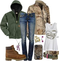 Skip those brown boots and put a pair of cowboy boots and the outfit will be perfect!