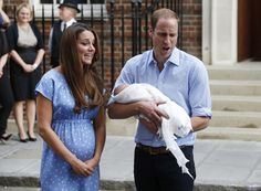Here's the First Footage of the Royal Baby. Let's Lose Our Shit. [UPDATING]