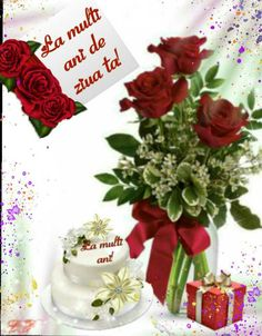 Happy Birthday Messages, Birthday Wishes, Love Images, Table Decorations, Rose, Christmas, Google, Happy Love, Mariana