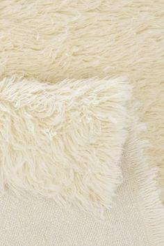 Hochflor-Teppich, Theko exklusiv, »Flokos 2«, Höhe 60 mm, handgewebt