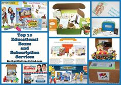 Top 10 Educational Subscription Boxes and Services