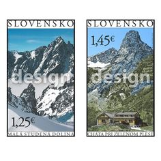 Krásy našej vlasti to je motív ktorý bude v septembri  figurovať na slovenských poštových známkach s nominálom 1,25€ a 1,45 €. Thing 1, Science And Nature, Homeland, Stamp, Mountains, Travel, Art, Voyage, Stamps