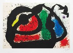 Masterworks Fine Art - Joan Miro L'Ogre Enjoue (The Playful Ogre), 1969