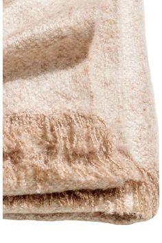 Soft blanket - Light amber - Home All | H&M