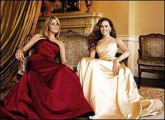 Jenna & Barbara Bush - president George W Bush's twin daughters