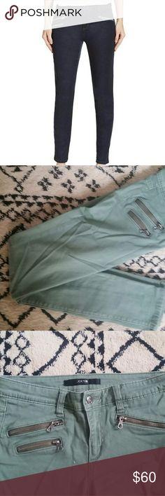 Joe's Jeans Rocker Skinny - green Green stretch jeans with front zipper pockets Joe's Jeans Jeans Skinny