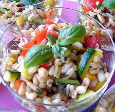 Insalata di Kamut con verdure – ricetta vegetariana