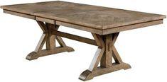 Dining Table Lighting, Wooden Dining Tables, Round Dining Table, Light Table, Expandable Dining Table, Dining Room Design, Dining Rooms, Light Oak, Wood Veneer