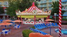 Leaping Horse Libations beside Luna Park pool at Disney's BoardWalk Inn at Walt Disney World Resort in Florida features a full bar, sandwiches and snacks. Disney Hotels, Disney World Resorts, Disney Parks, Walt Disney World, Disney Vacation Club, Disney Vacation Planning, Disney Vacations, Disney Dream, Disney Fun