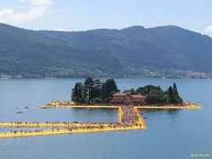 The Floating Piers...Because You will Walk on Water - YouTube