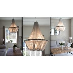 Decor, Furniture, House, Lighting, Hanging Chair, Ceiling Lights, Chair, Home Decor, Chandelier