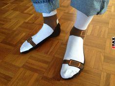 STAX   Van rosszabb a zokni+szandál kombónál?