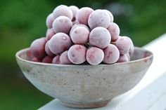 Frozen Grapes.    Frozen grapes are one of my favorite summertime treats.   Actually, I love them year round, but they're particularly refreshing on a hot summer afternoon.