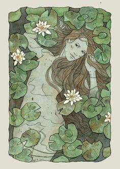 water lilies by liga-marta on deviantART
