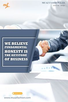 We believe fundamental honesty is the keystone of business Garments Business, Honesty, Believe, Change, Lettering, Drawing Letters, Letters, Character, Texting