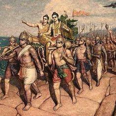 Hanuman and Sri Ram