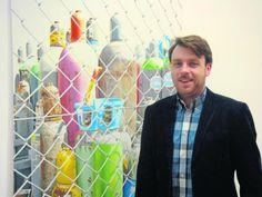 Vorsicht explosiv: Stefan Bircheneder erhielt für sein Bild 'Buntgas' den Kunstpreis des Kunst- und Gewerbevereins Regensburg.Bild: Wolke