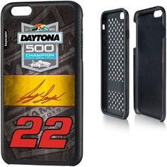 Joey Logano #22 Apple iPhone 6 Plus (5.5 inch) Rugged Case